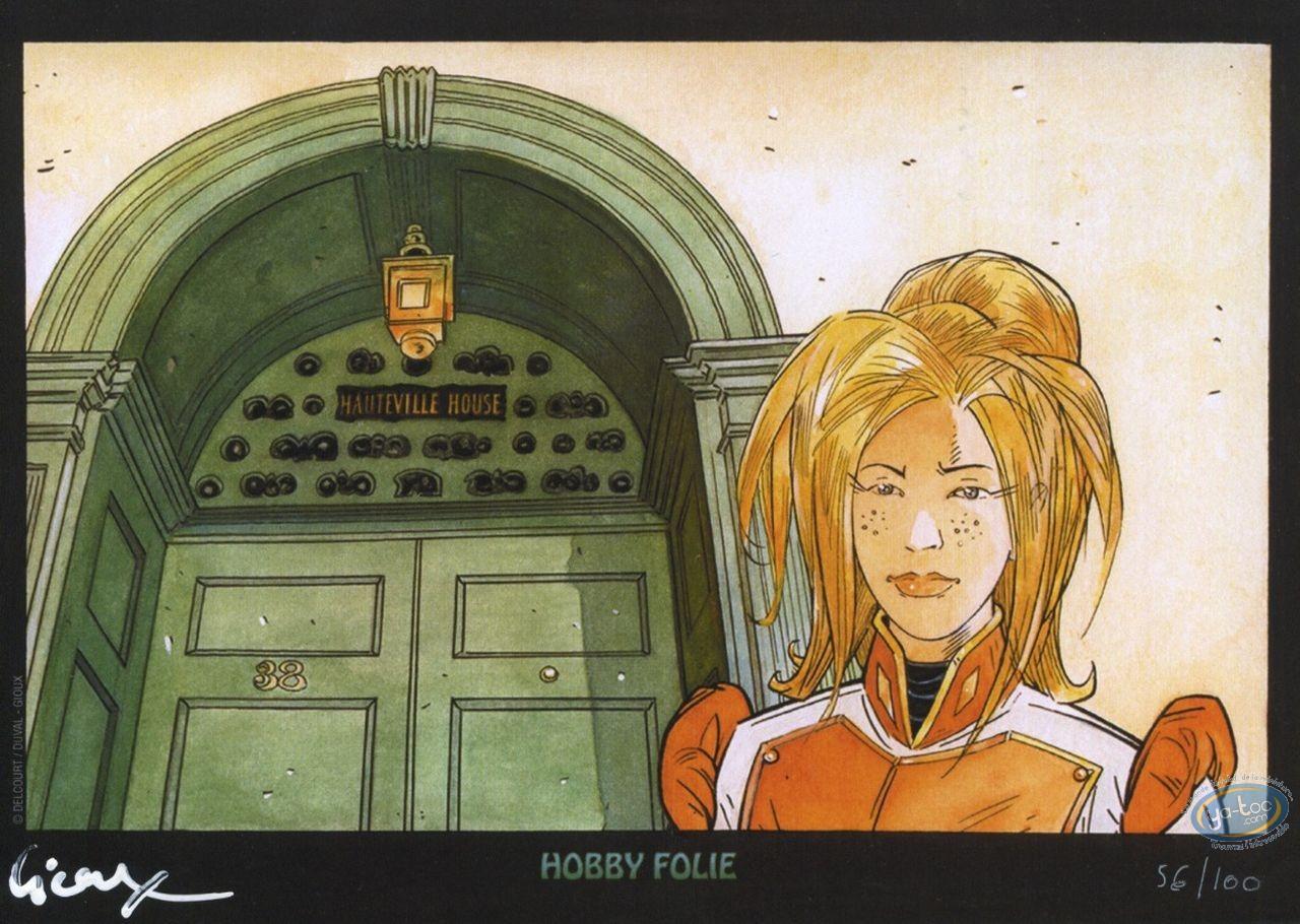 Ex-libris Offset, Hauteville House : Femme blonde