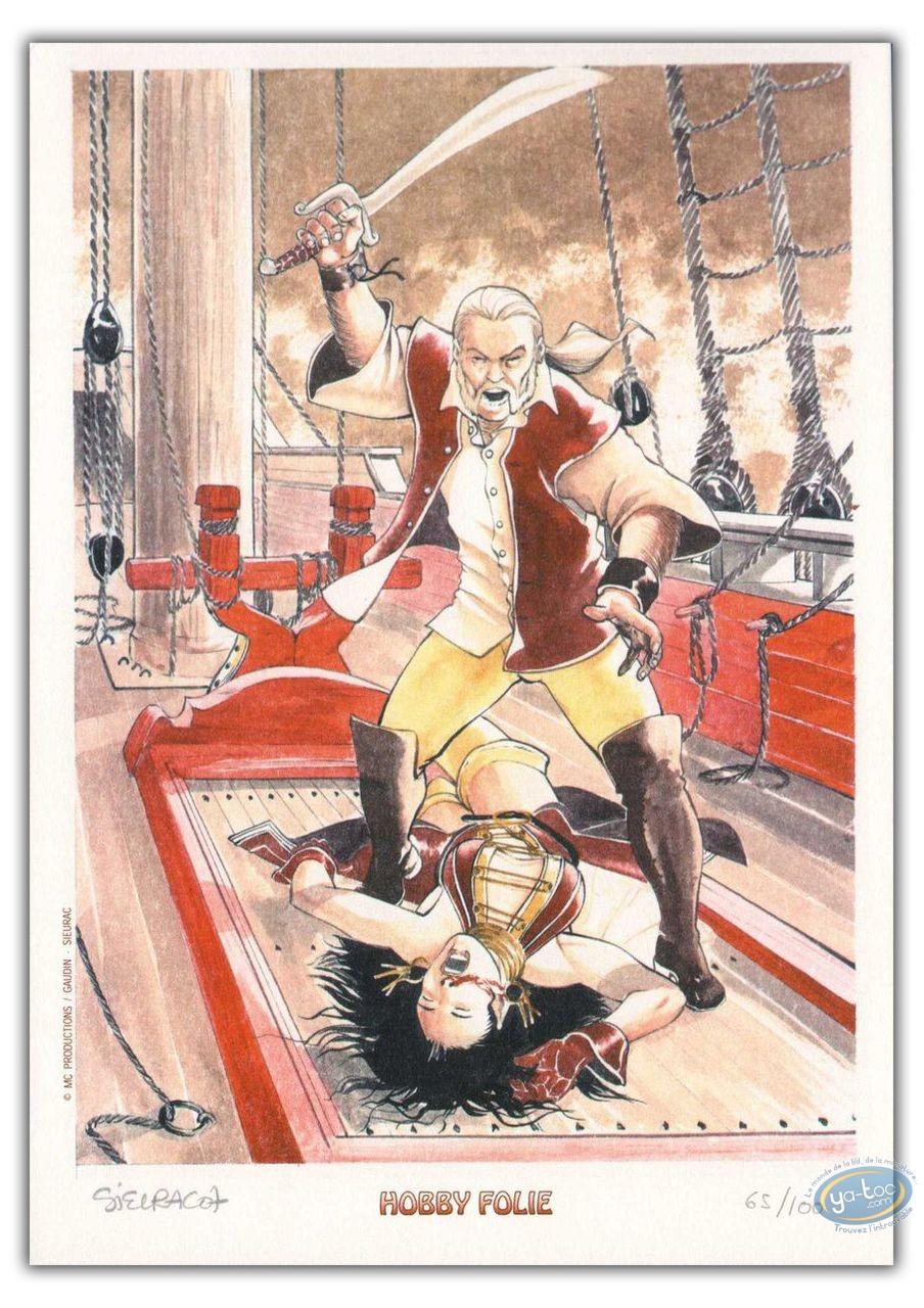 Ex-libris Offset, Princes d'Arclan (les) : Combat sur navire