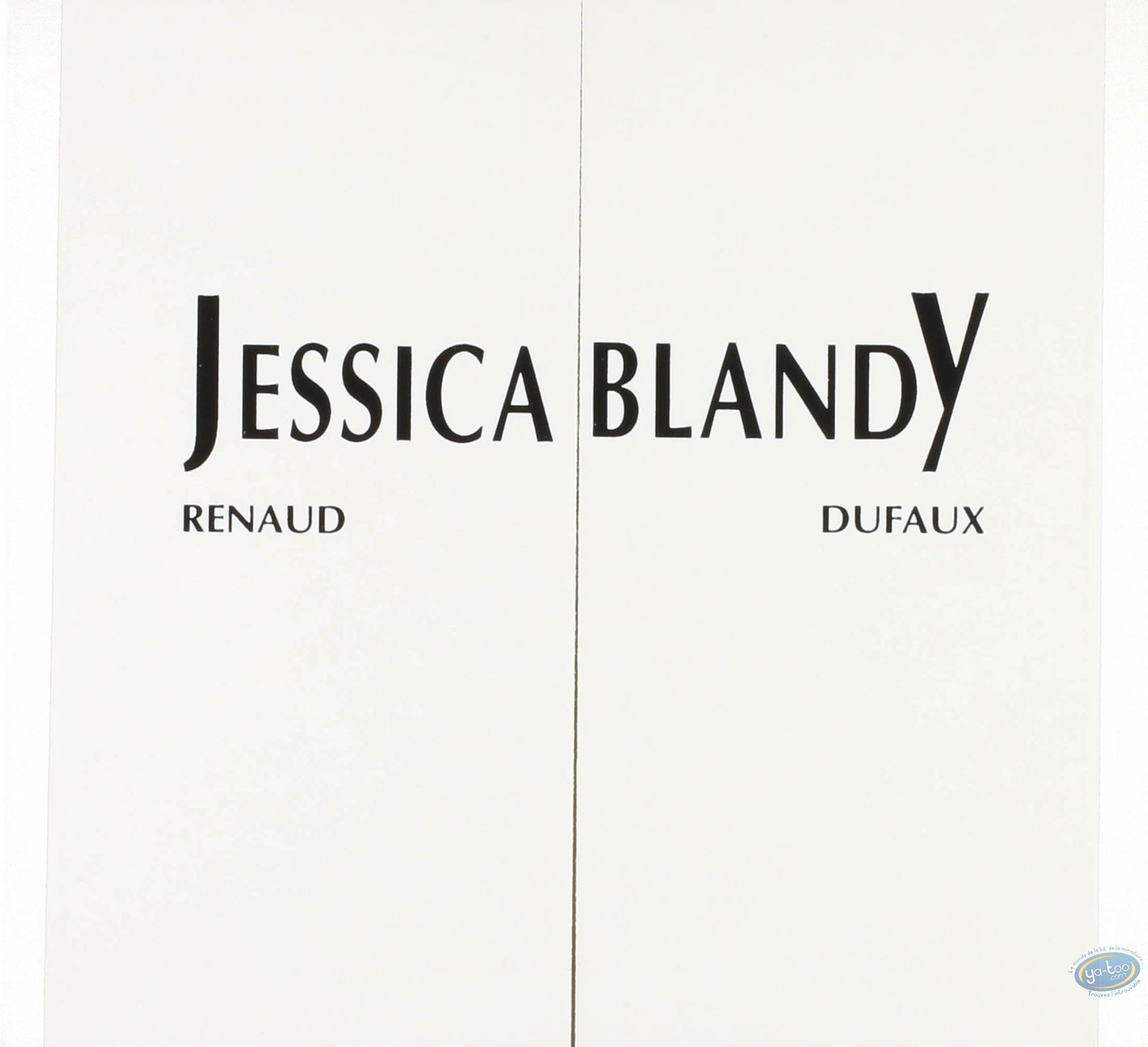 Affiche Sérigraphie, Jessica Blandy : Jessica Blandy : Renaud