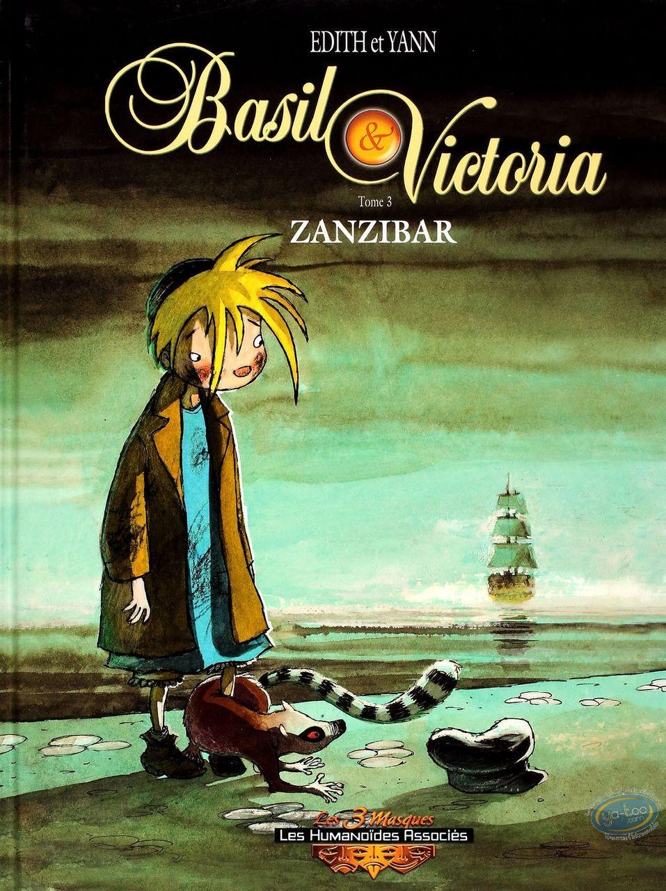 BD occasion, Basil et Victoria : Zanzibar