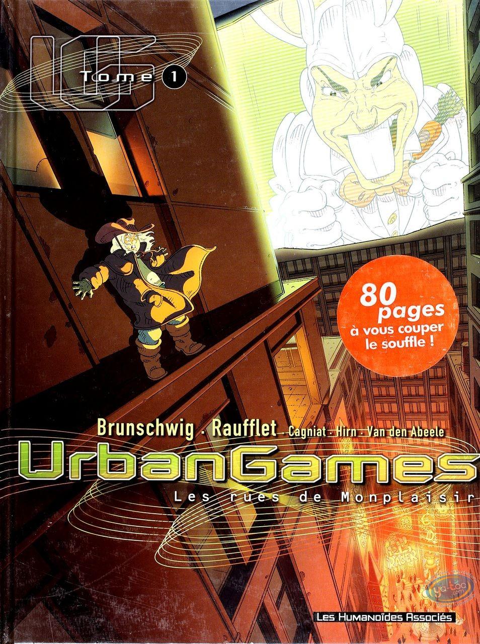 BD occasion, Urbangames : Les rues de montplaisir