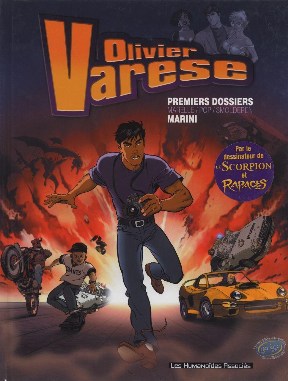 BD occasion, Olivier Varèse : Premiers Dossiers