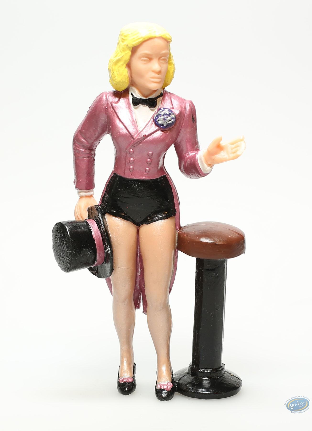 Figurine plastique, Marlène Dietrich : Marlène Dietrich