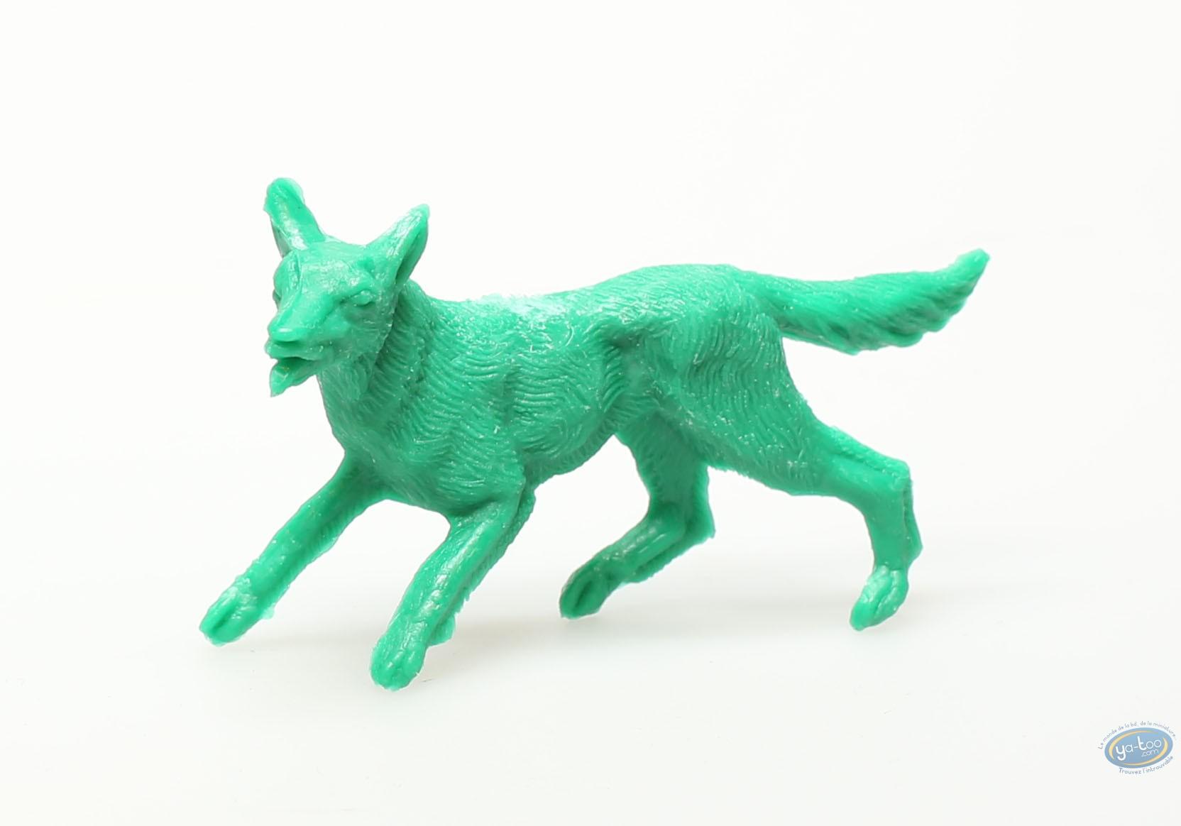 Figurine plastique, Rintintin : Rintintin vert