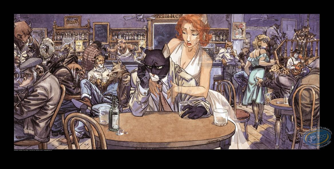 Affiche Offset, Blacksad : John's Blues