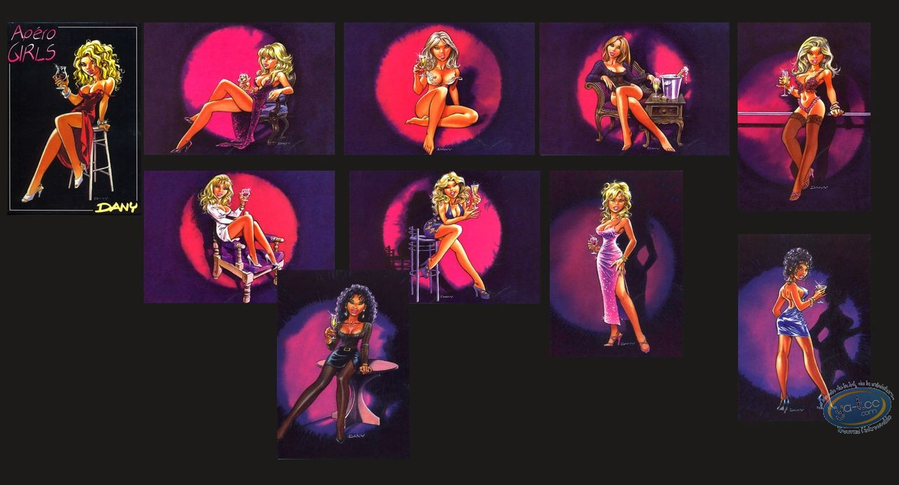Portfolio, Apéro Girls : Apéro Girls