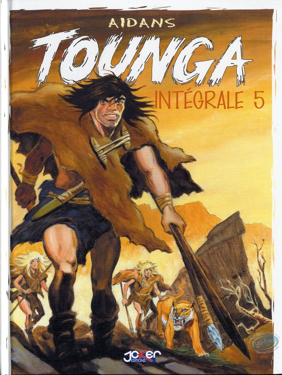 BD prix réduit, Tounga : Intégrale Tounga Tome 5