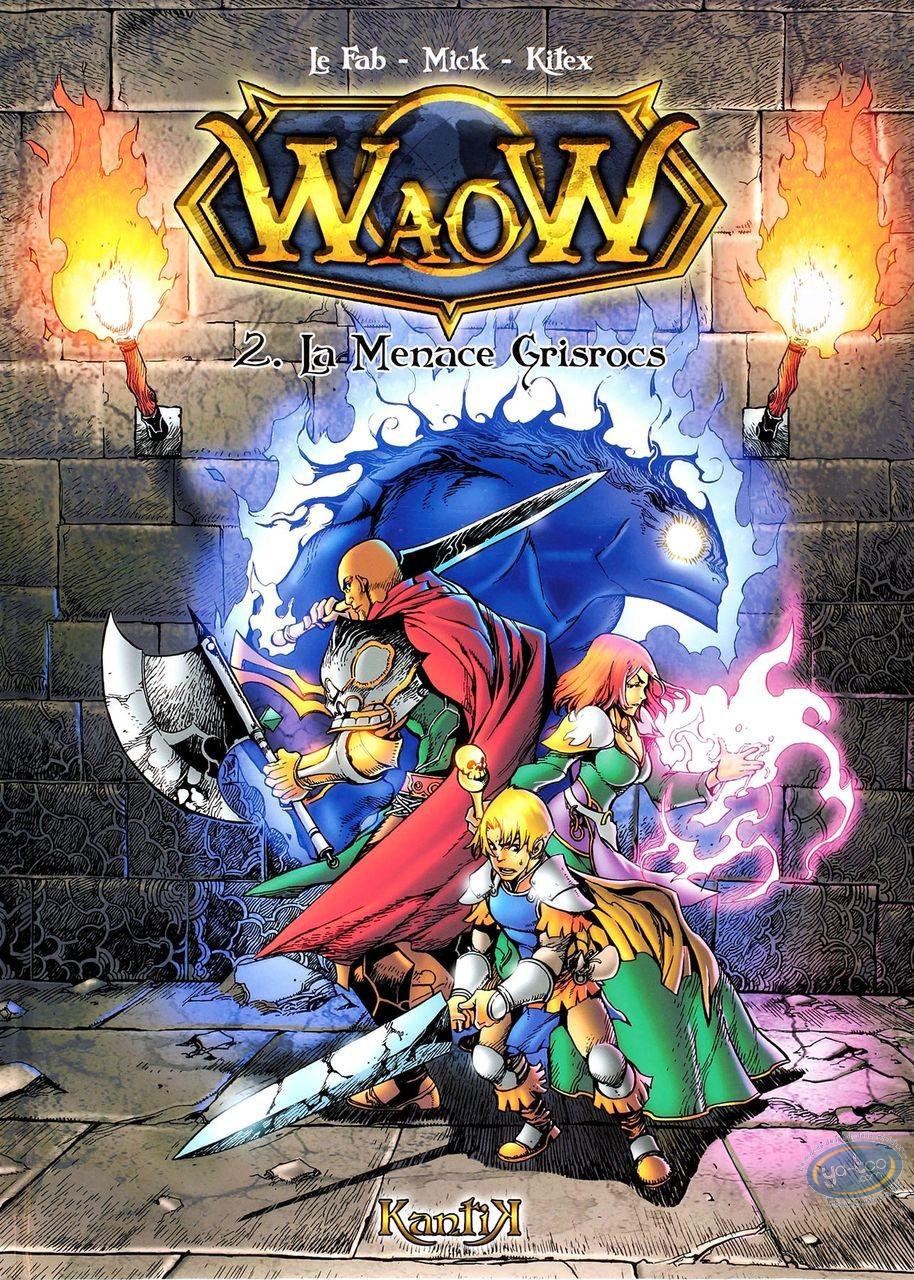 BD occasion, Waow : La menace Grisrocs