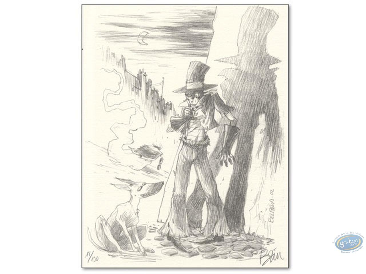 Ex-libris Offset, Epouvantail Pointeur (L') : Beuzelin, L'Epouvantail Pointeur