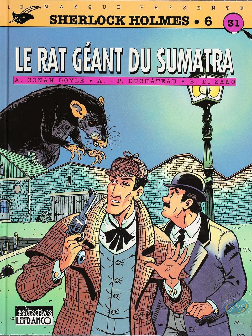 BD cotée, Sherlock Holmes : Le Rat Géant du Sumatra