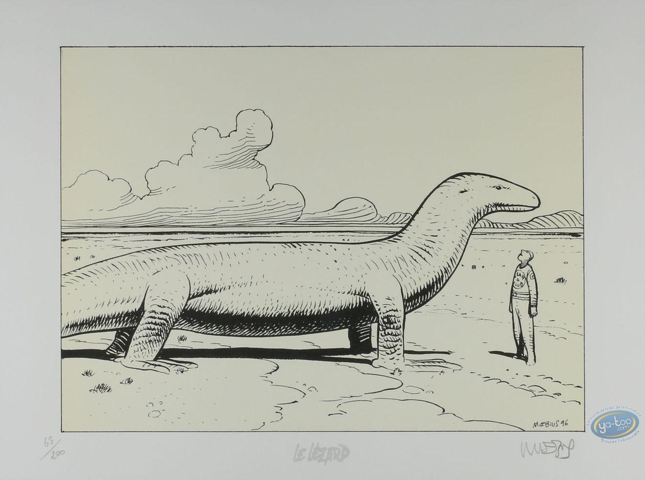 Affiche Offset, Moebius, Le Lézard