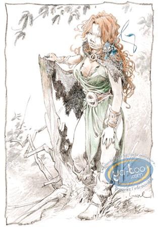 Affiche Offset, Quête de l'Oiseau du Temps (La) : Pélisse 3
