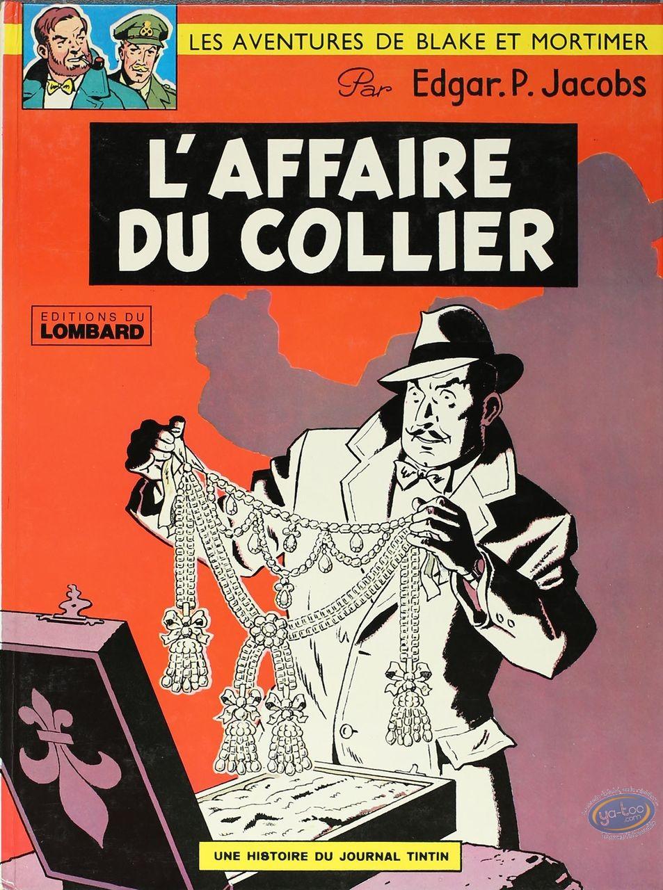 BD cotée, Blake et Mortimer : Blake et Mortimer, L'Affaire du Collier