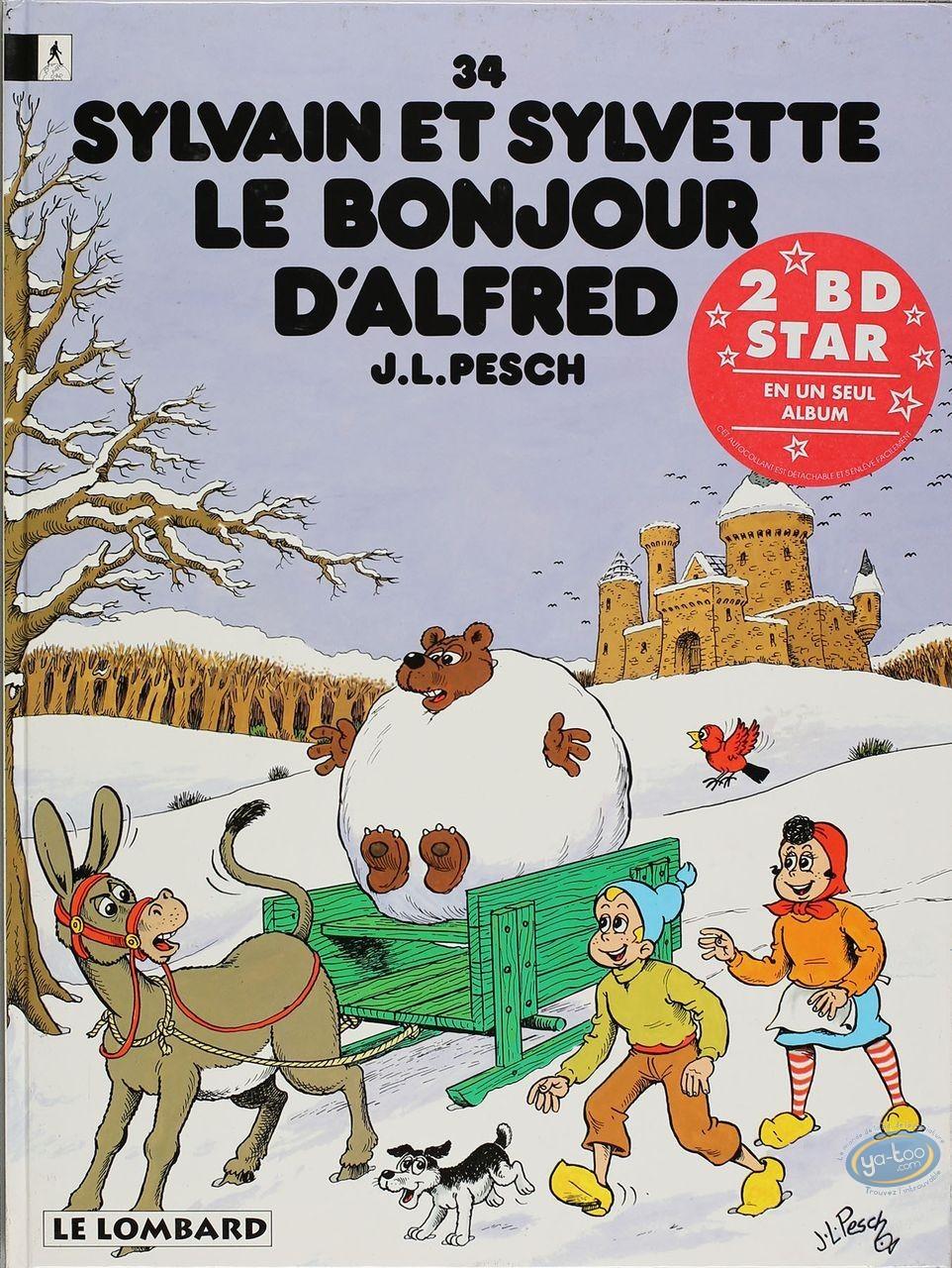 BD occasion, Cubitus : Cubitus chien sans accroc + Sylvain et Sylvette le Bonjour d'Alfred
