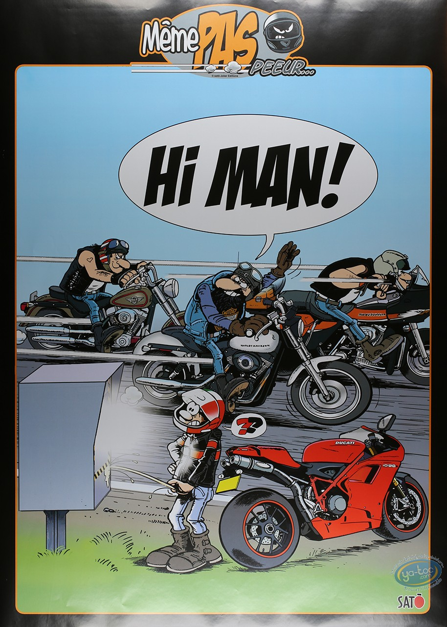 Affiche Offset, Même pas Peeur : Hé Man