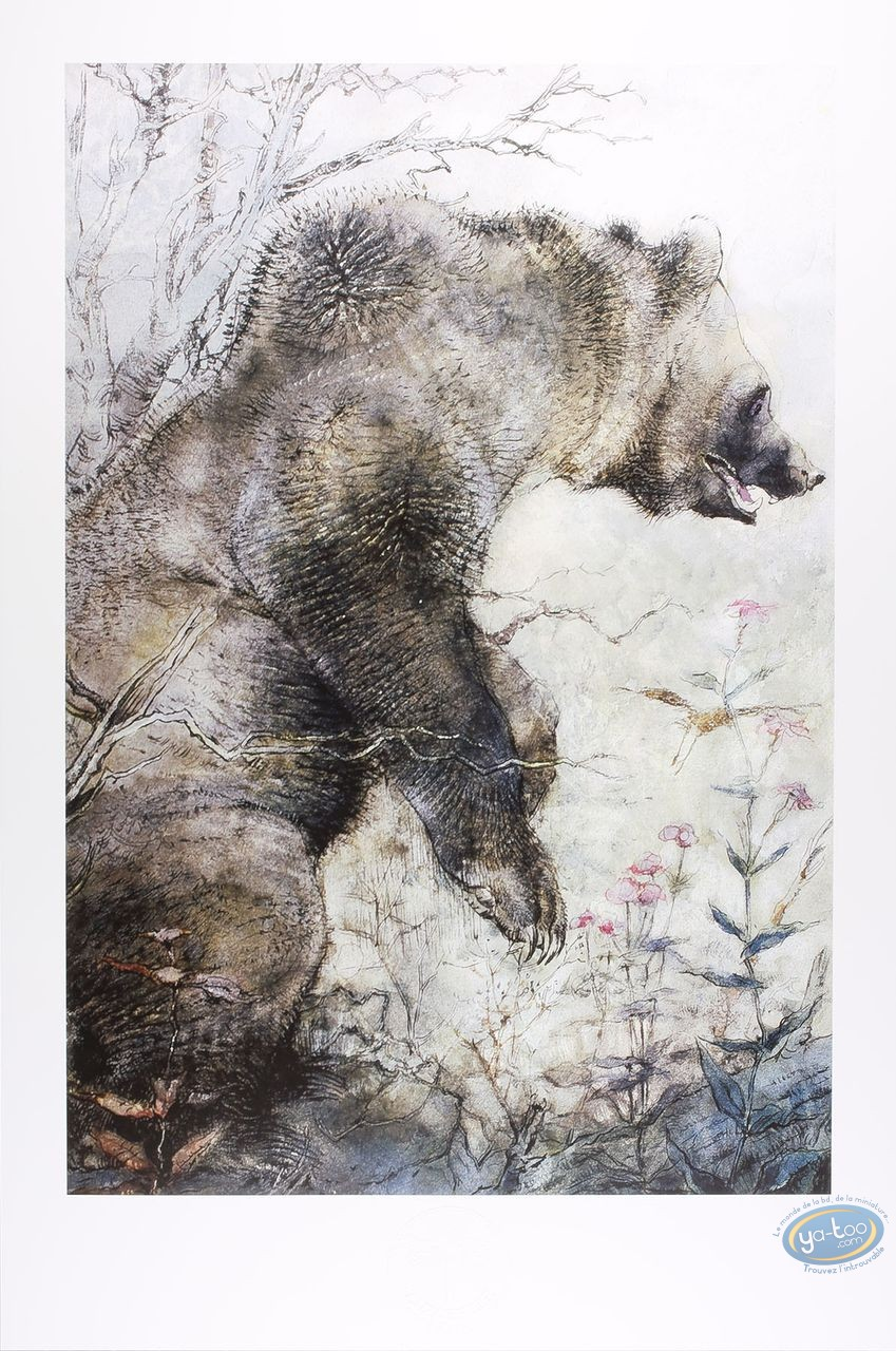 Affiche Offset, Le grizzly