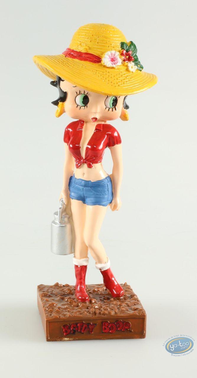 Statuette résine, Betty Boop : Betty Boop Fermière