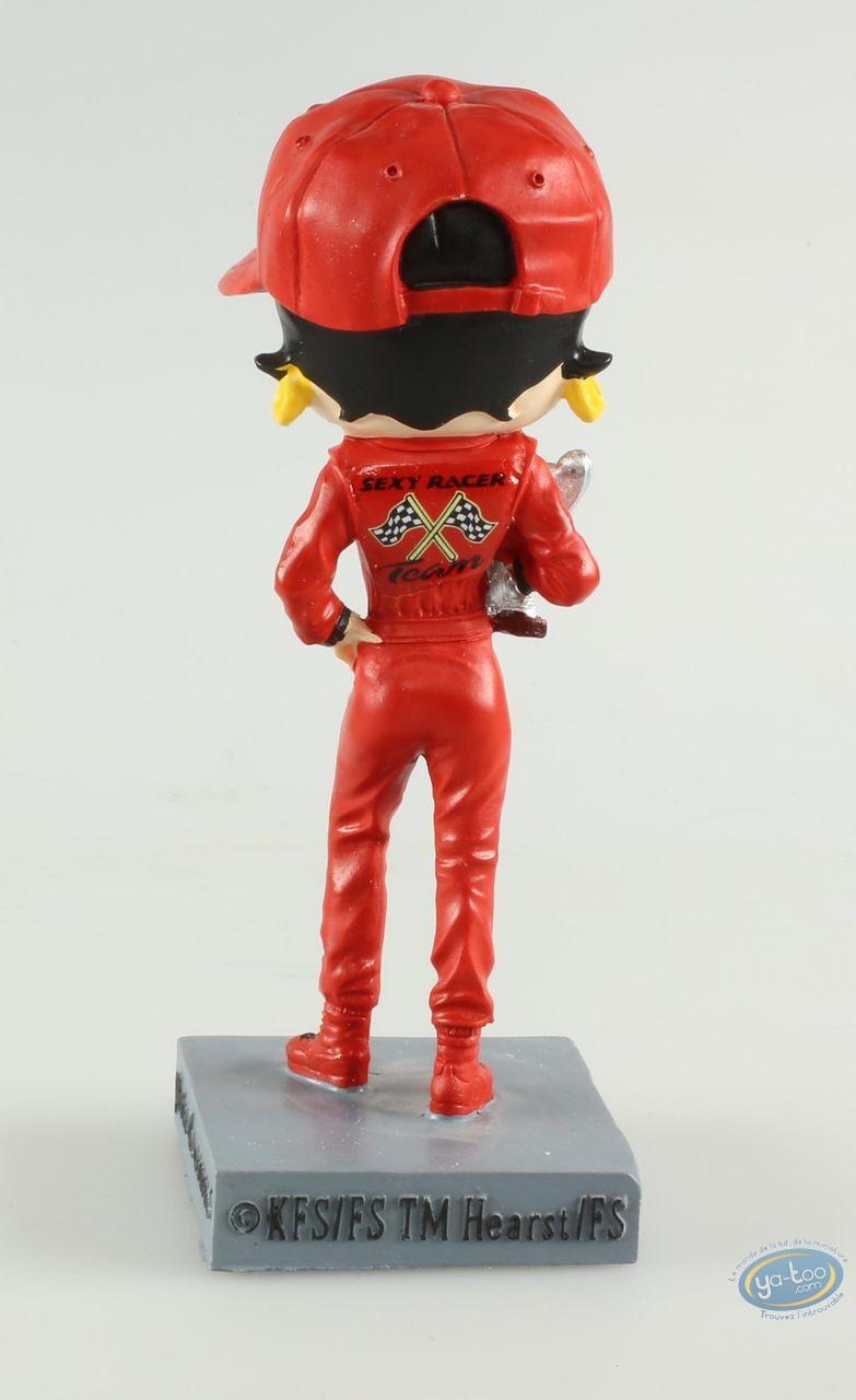 Statuette résine, Betty Boop : Betty Boop Pilote de course