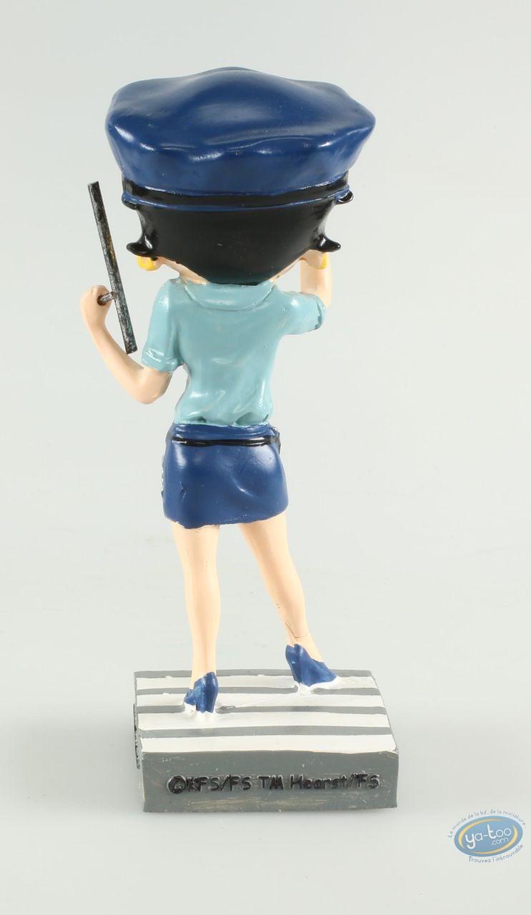 Statuette résine, Betty Boop : Betty Boop Agent de police