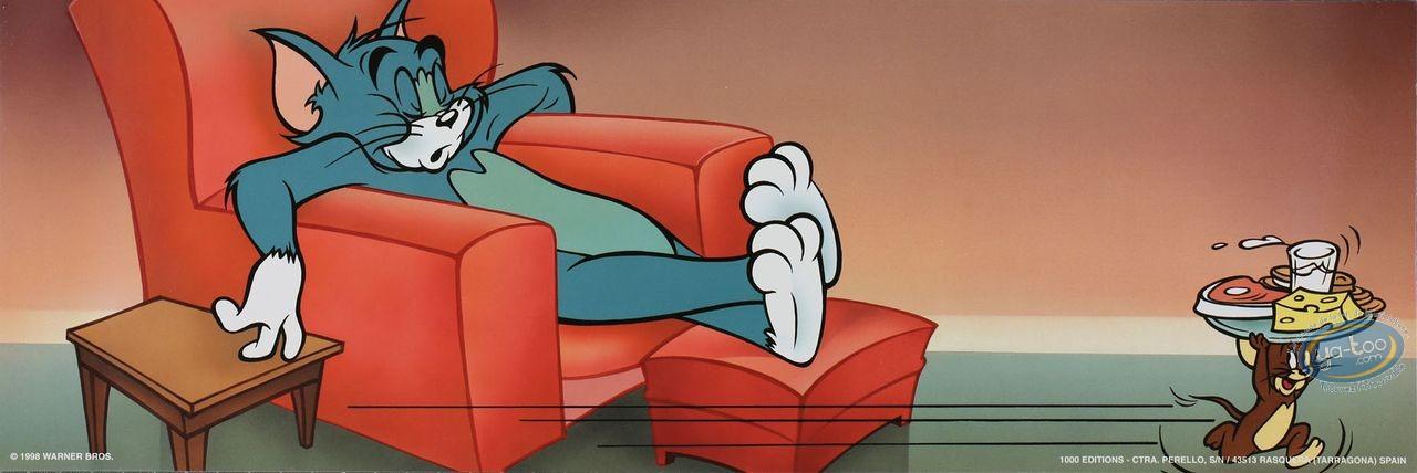 Affiche Offset, Tom et Jerry : En-cas 45X15 cm