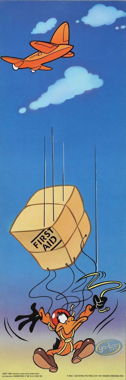 Affiche Offset, Daffy Duck : Aide d'urgence 15X45 cm