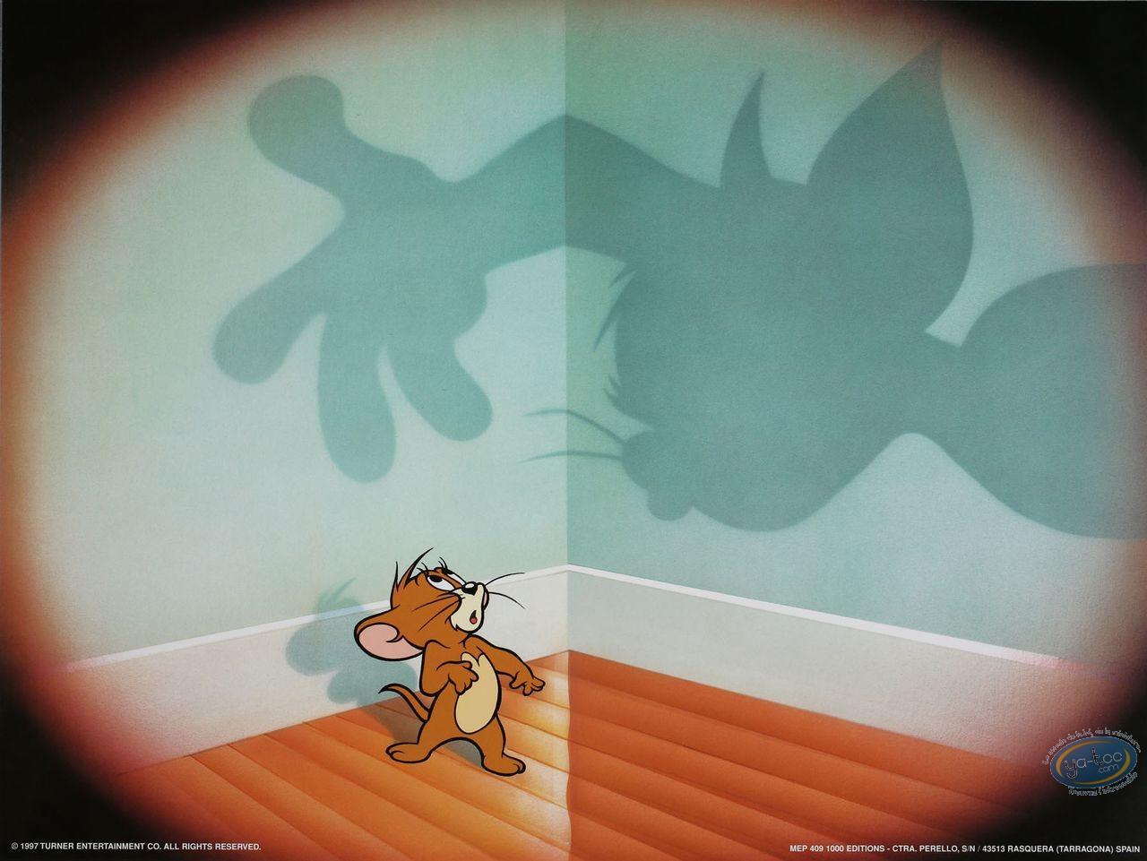 Affiche Offset, Tom et Jerry : Jerry piégé ? 80X60 cm