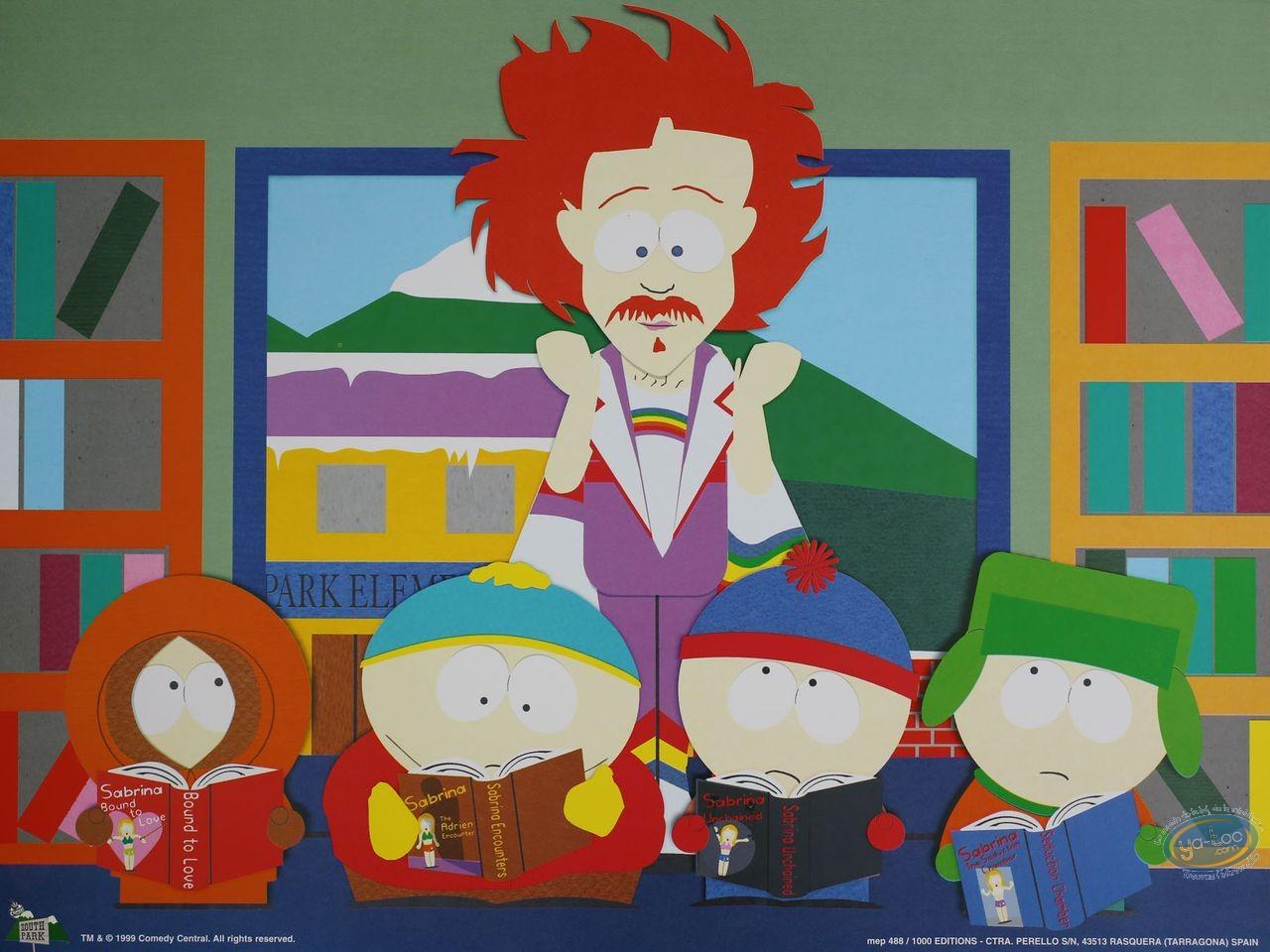 Affiche Offset, South Park : La salle de classe 40X30 cm