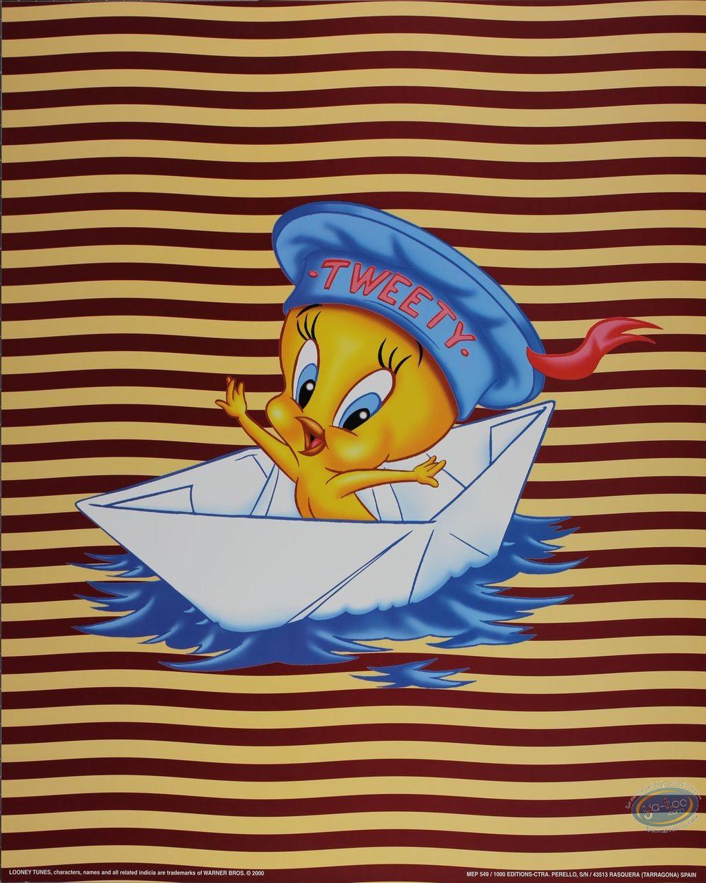 Affiche Offset, Titi : Titi marin 40X50 cm
