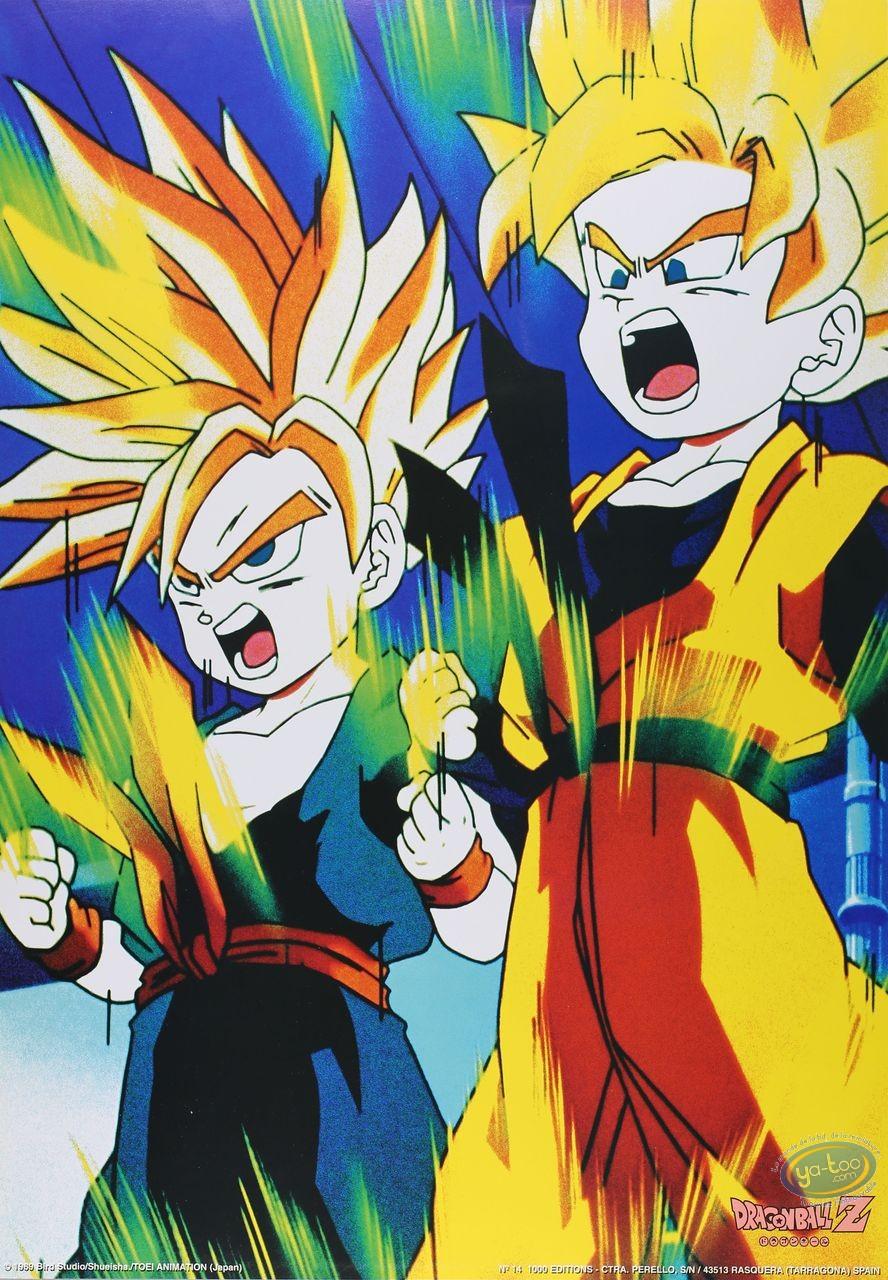 Affiche Offset, Dragon Ball Z : Dragon Ball Z n°7