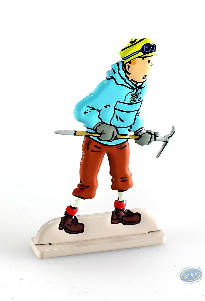 Figurine métal, Tintin : Tintin au Tibet (bas relief)