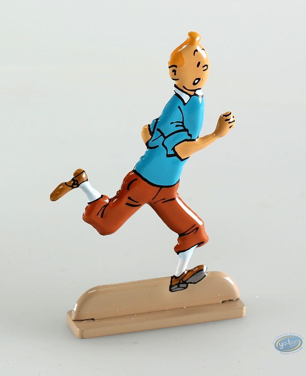 Figurine métal, Tintin : Tintin et Les Bijoux de la Castafiore (bas relief)