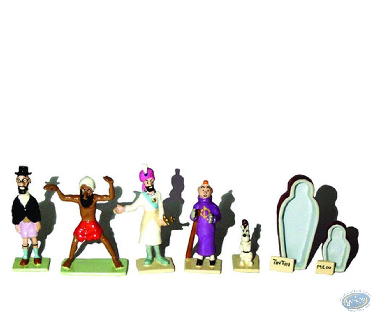 Figurine métal, Tintin : Les cigares du Pharaon (série minis)