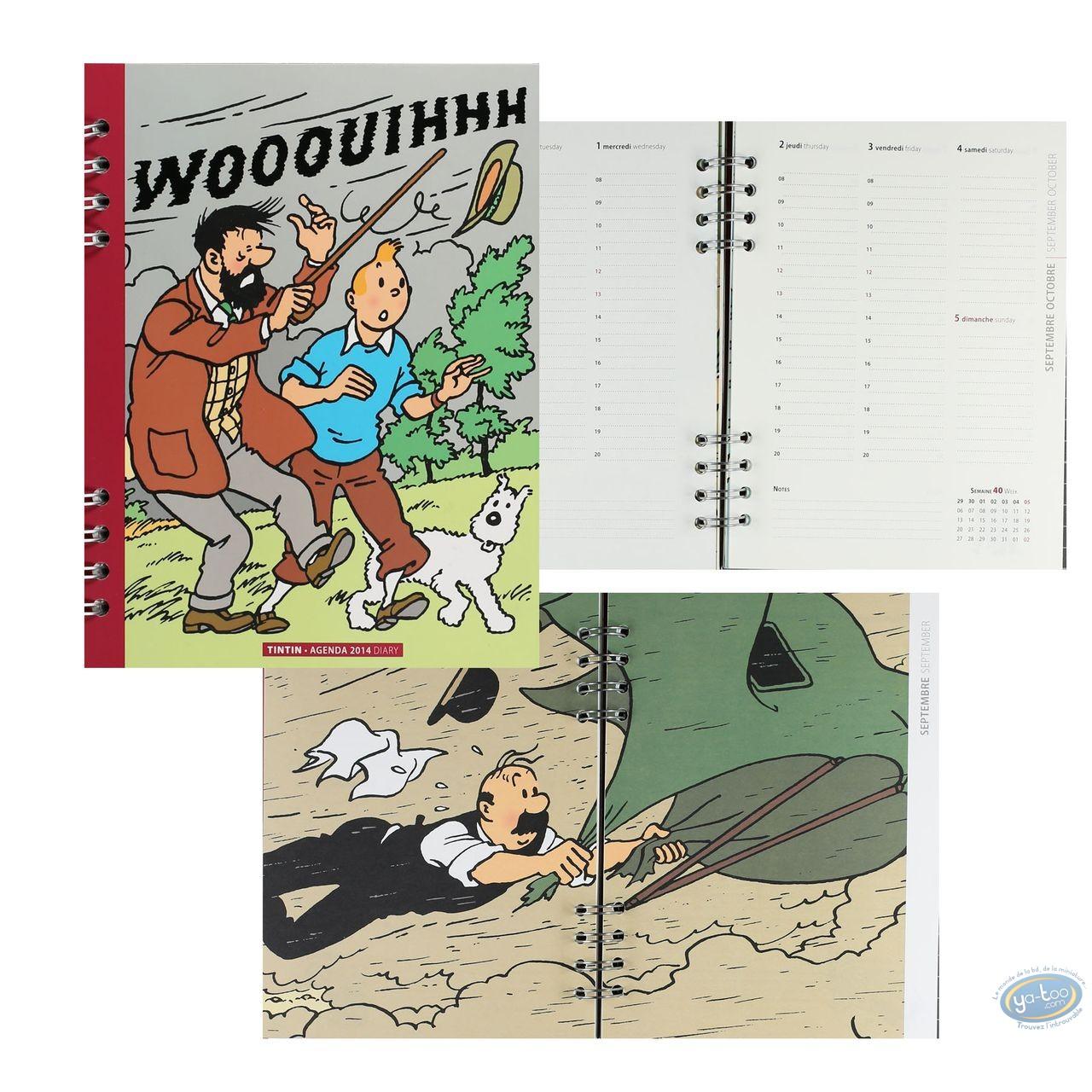 Fourniture bureau, Tintin : Agenda 2014