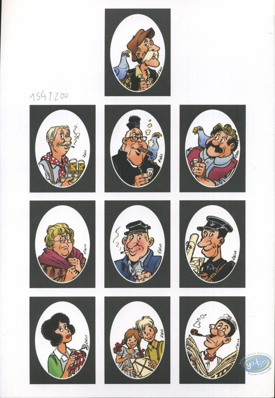Ex-libris Offset, Vieux Bleu (Le) : Portraits