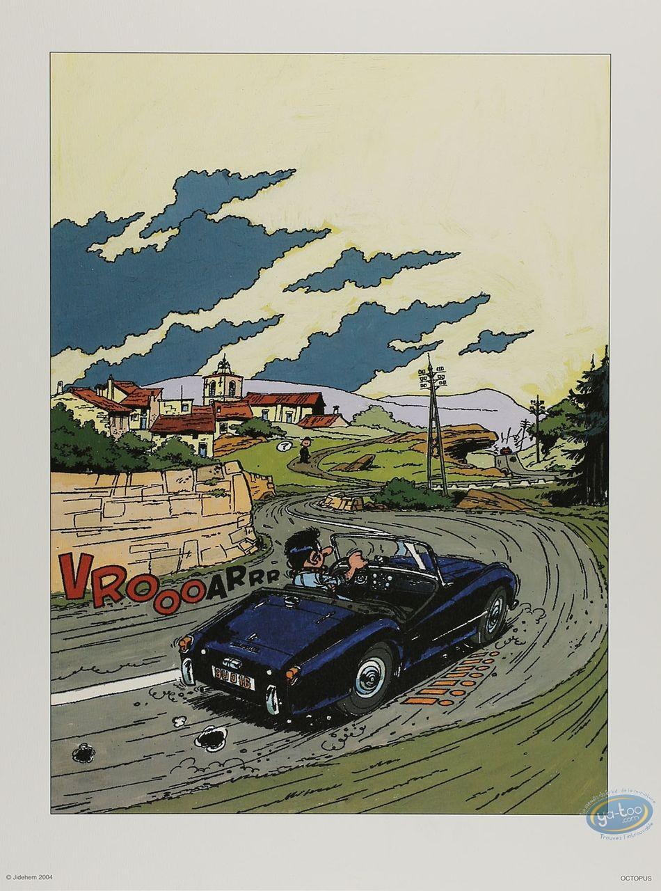 Affiche Offset, Starter : Triumph (non signée)