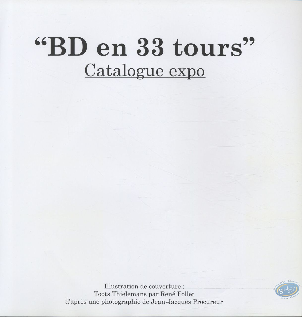 Livre, BD en 33 Tours : BD en 33 tours + ex-libris Dany