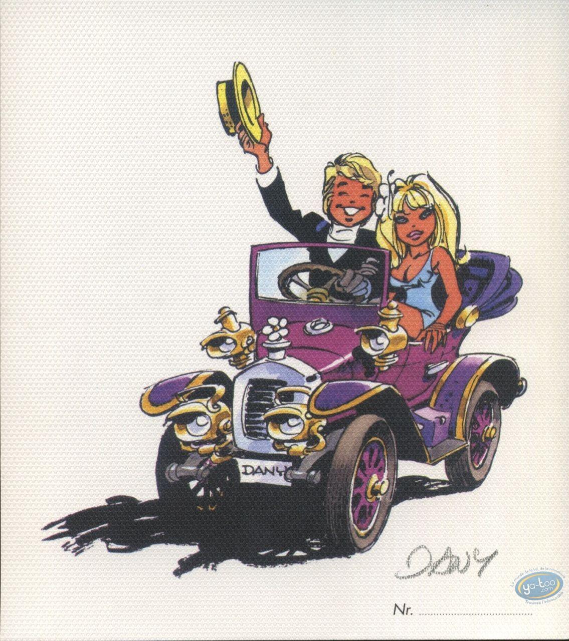 Ex-libris Offset, Olivier Rameau : En voiture