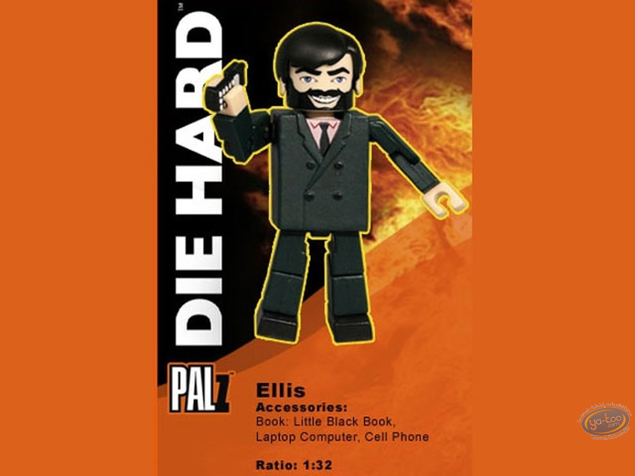 Figurine plastique, Die Hard : Ellis
