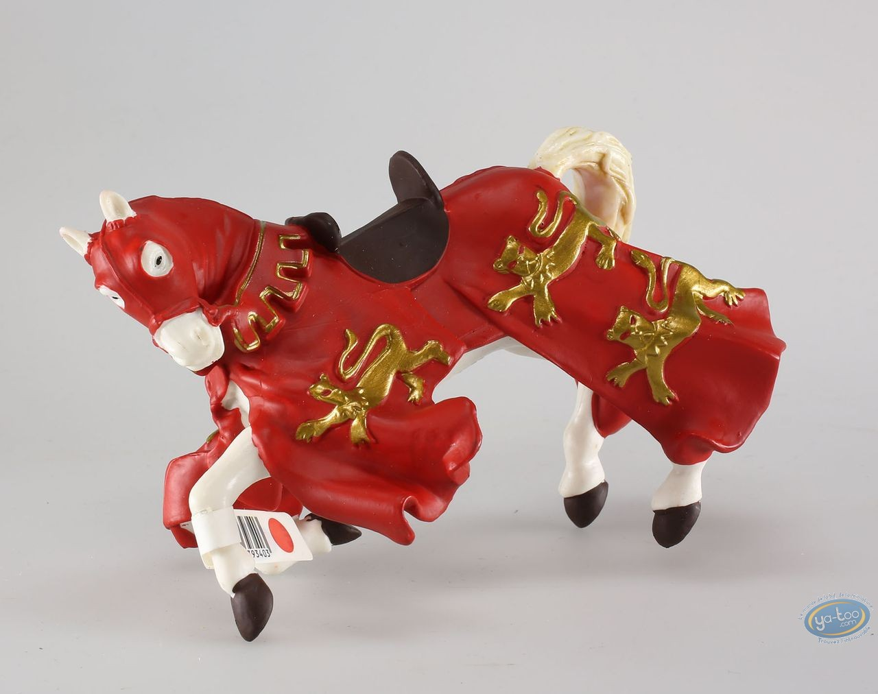 Figurine plastique,  : Cheval du roi Richard