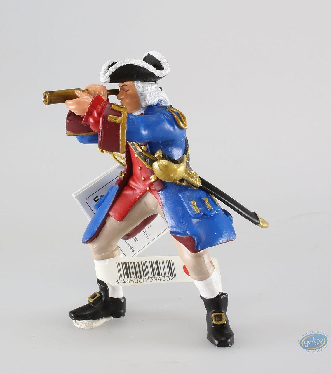 Figurine plastique, Pirates : Capitaine marine du Roy