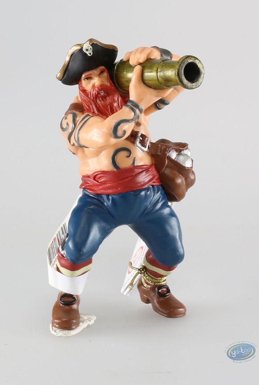 Figurine plastique, Pirates : Pirate au canon