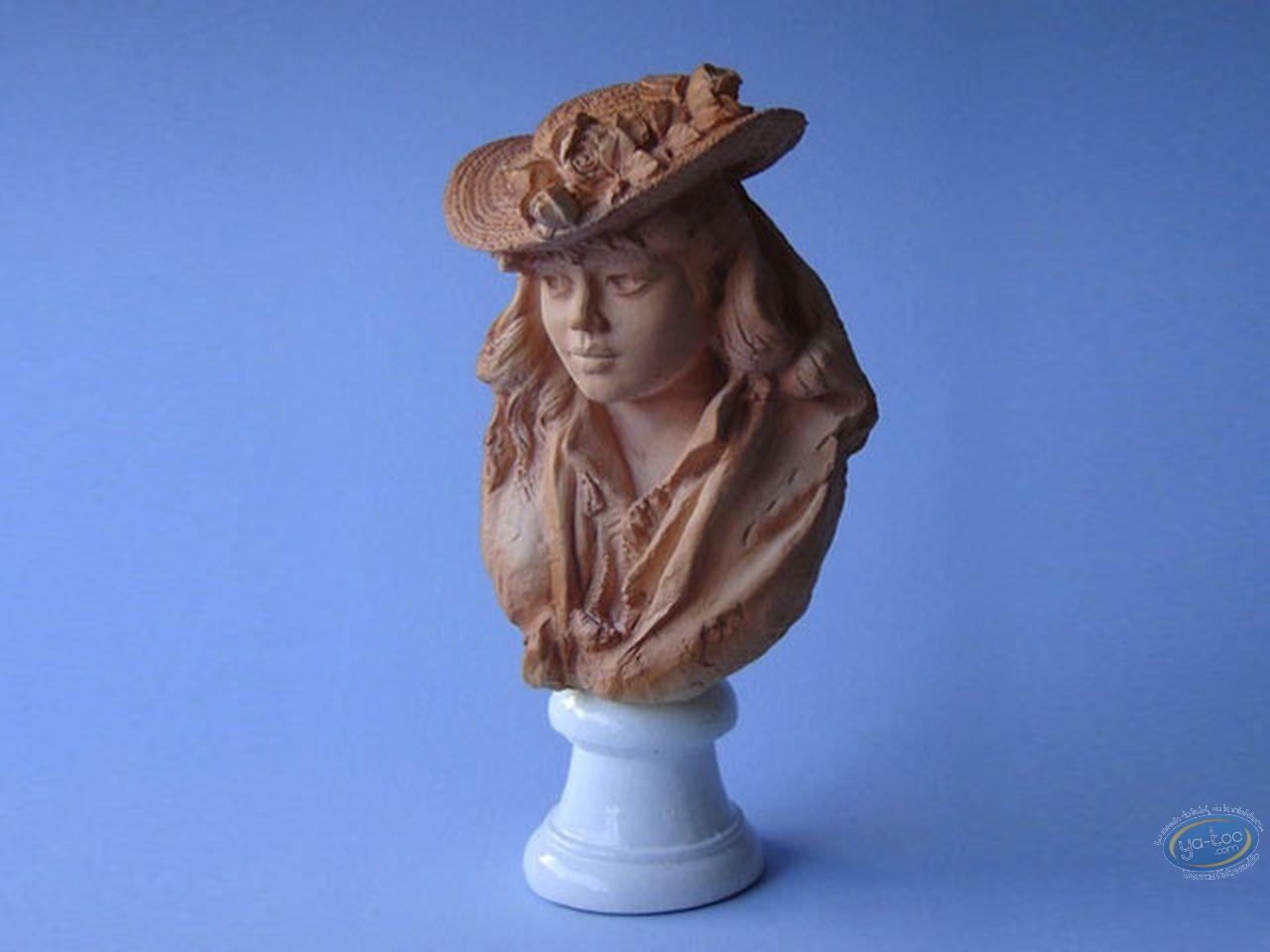 Statuette résine, Tableaux en 3D : Rodin - Rose Beuret