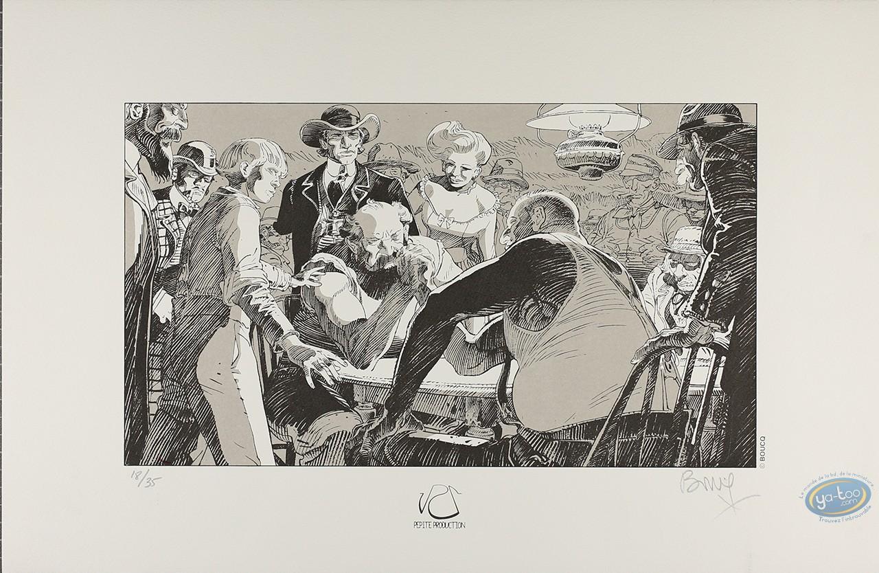 Affiche Sérigraphie, Bouncer : Le bras de fer