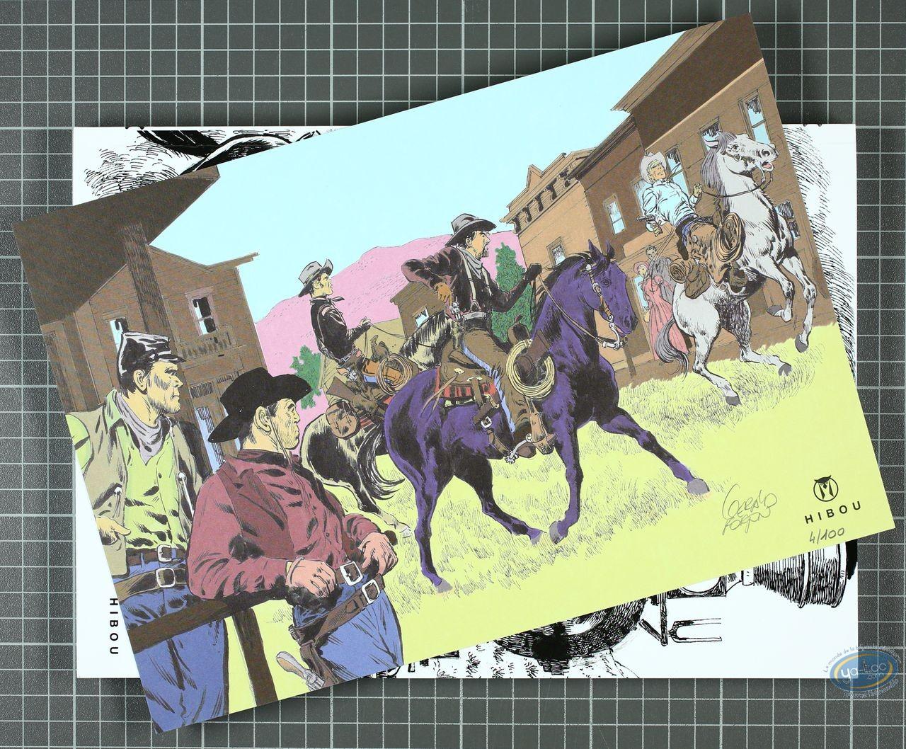 Album de Luxe, Teddy Ted : Quand les coyotes hurleront - Un train pour l'enfer