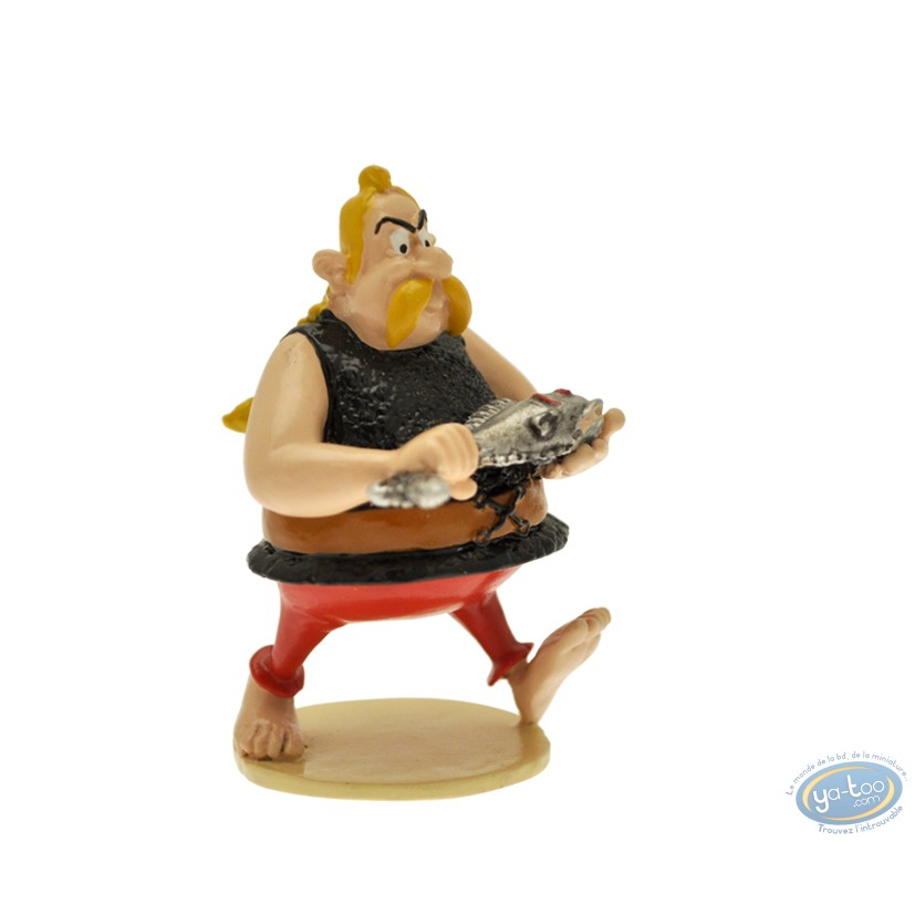 Figurine métal, Astérix : Origine : Ordralphabétix le poissonnier, Pixi