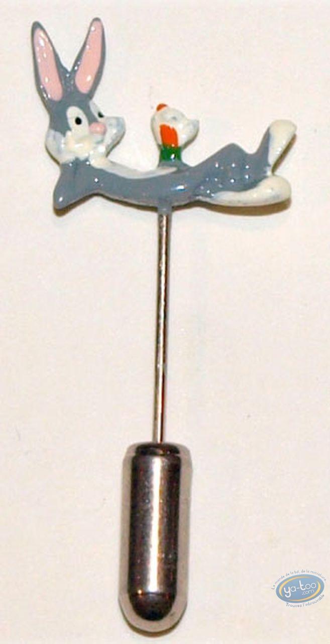 Figurine métal, Bugs Bunny : Epinglette, Bugs Bunny, Pixi