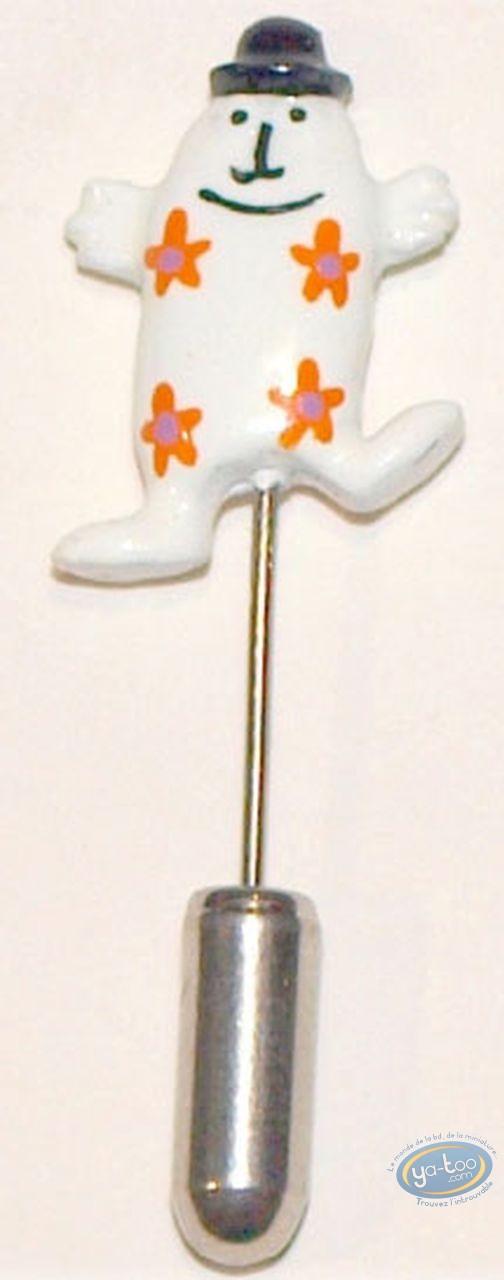 Figurine métal, Shadoks (Les) : Epinglette, Gibi à fleurs, Pixi