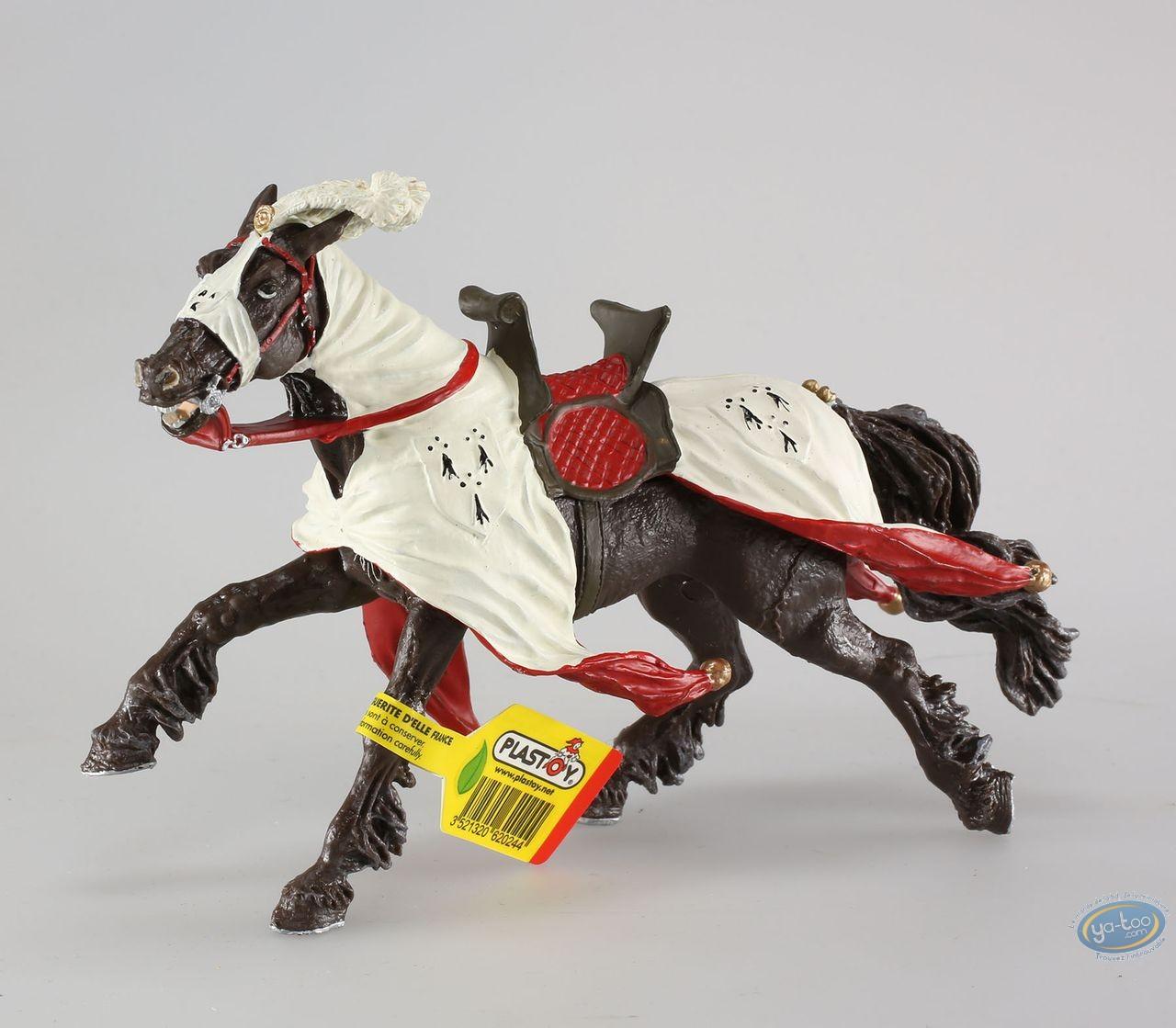 Figurine plastique, Cheval du duc de Bretagne