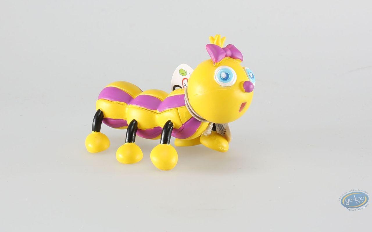 Figurine plastique, Drôles de Petites Bêtes : Camille la chenille