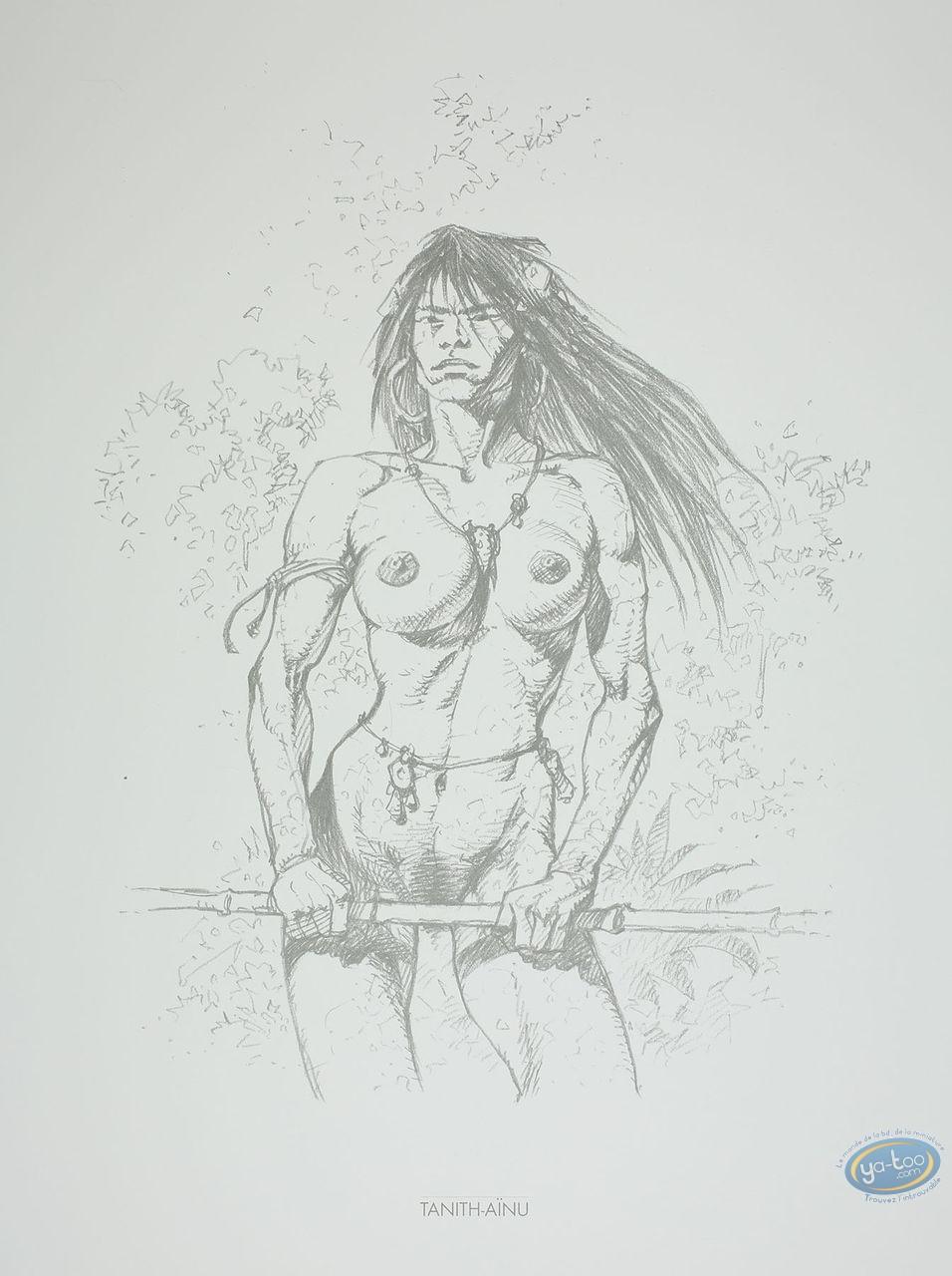 Affiche Offset, Amazones : Tanith-Aïnu